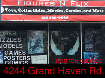 Advertisement - DP Comics and Collectables Muskegon