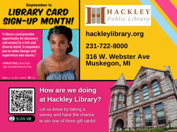 Advertisement - Hackley Public Library